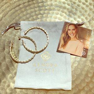 Kendra Scott Thora Gold Hoop Earrings